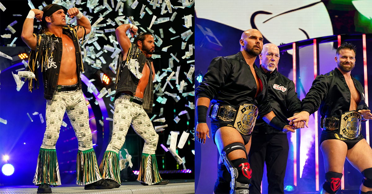 AEW: All Current Active Tag Teams and Current Active Stables