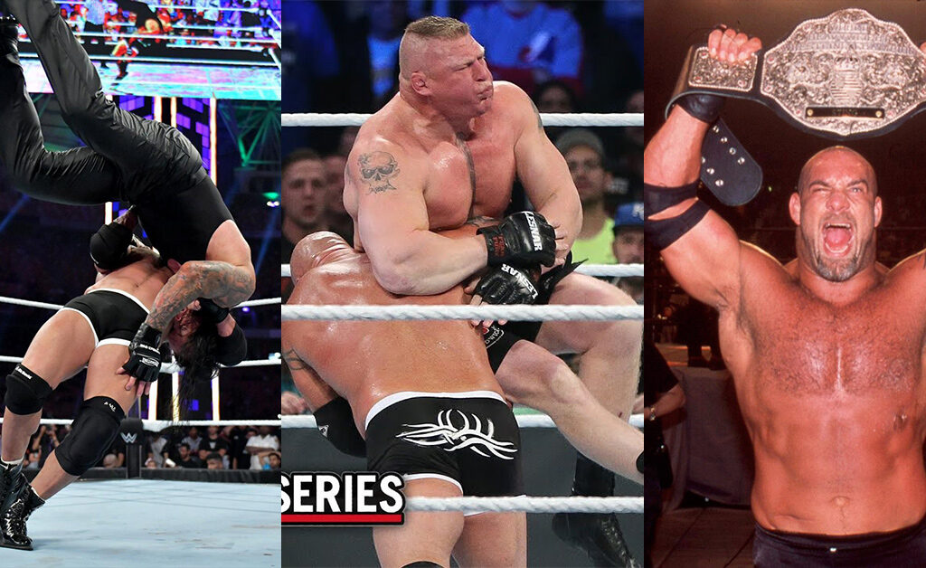 Goldberg's Top 5 Best Matches in WWE