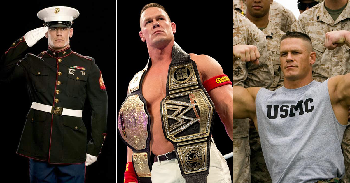 Was John Cena in the Military?
